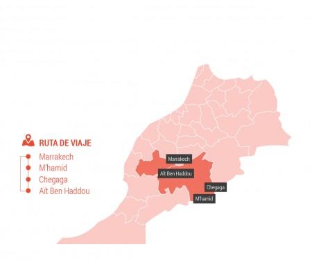 Territorio Bereber 7 días desde Marrakech