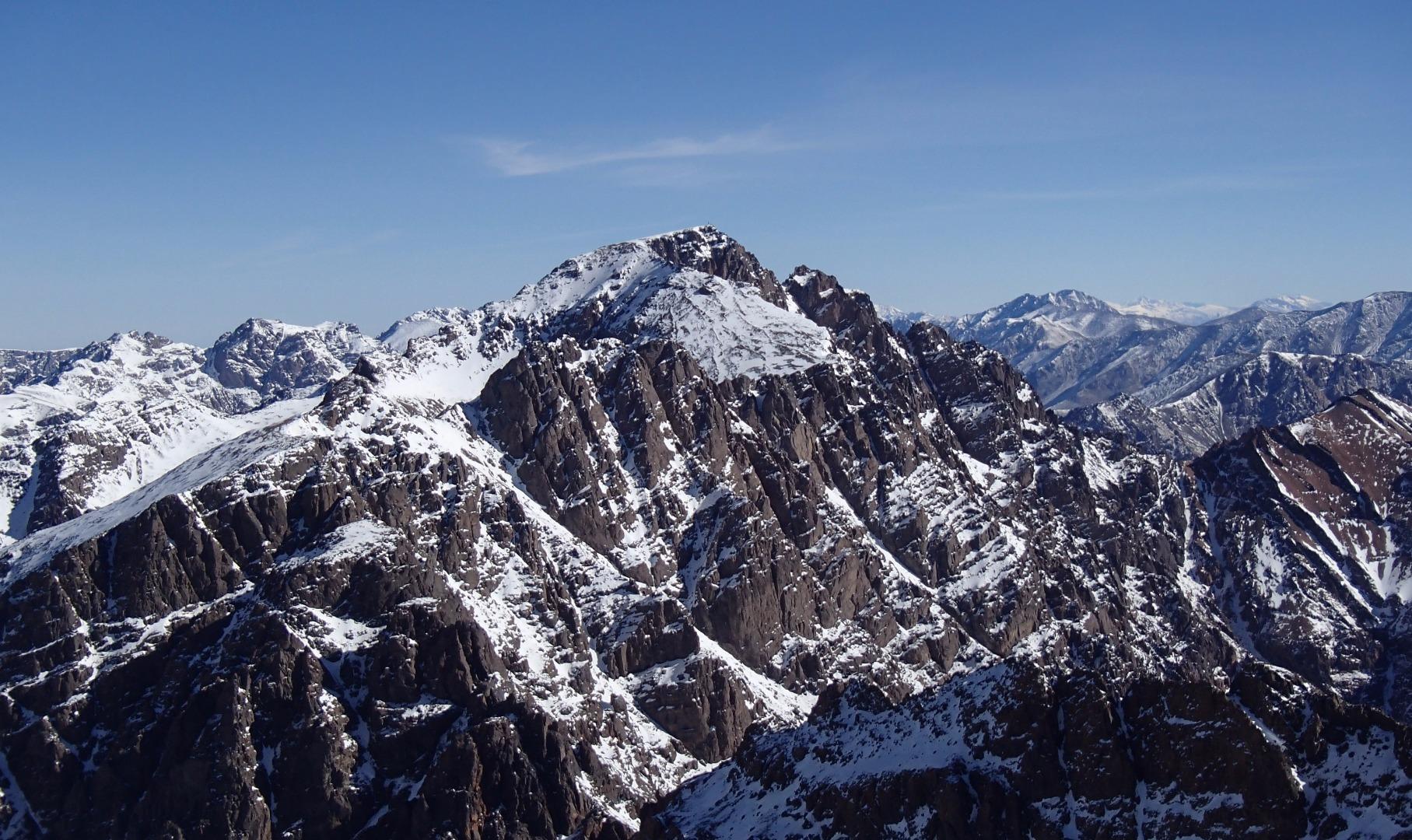 Ascenso al  Jbel Toubkal