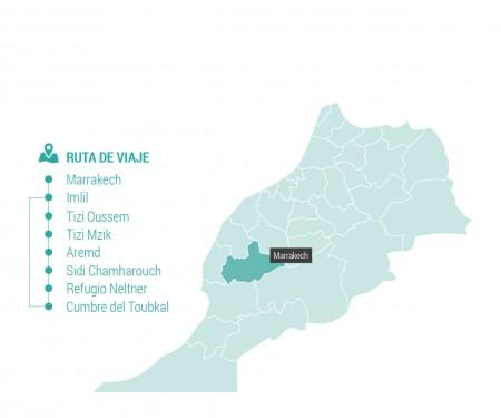 Toubkal y aldeas bereberes del Alto Atlas