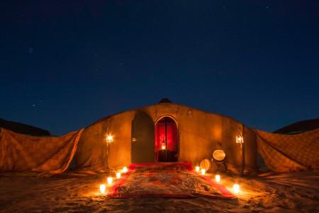 Campamento nómada (Erg Lihoudi)