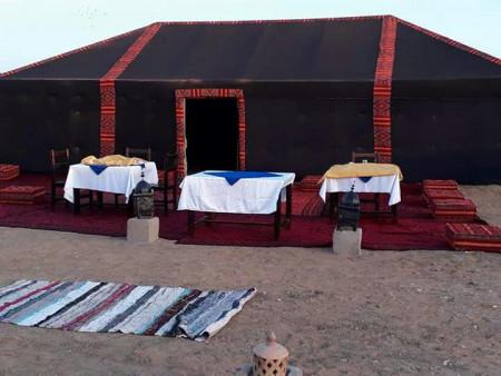 Bivouac nómada Erg Chebbi