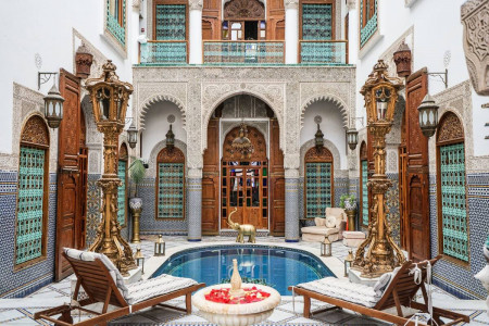 Riad Arabesque luxury guesthouse & Spa (Fez)